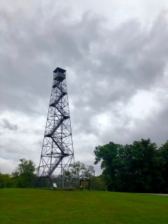 I was also lucky enough to visit on the same day that the fire tower re-opened after several years of renovation.