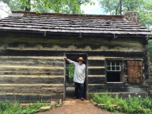 The park offers a living historical farm with a replica of what the Lincoln family cabin and farmstead may have looked like.